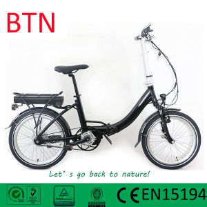 Tongsheng MID Motor with Blet Drive Bike Folding Electric Bike/Bicycle pictures & photos