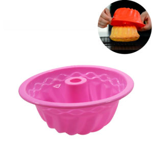 Silicone Bakeware Baking Tools FDA Silicone Savarin Cake Mold pictures & photos