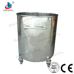 Stainless Steel Mobile Storage Tank pictures & photos