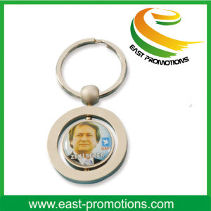 Custom Metal Key Chain with Expocy Logo for Car Owner pictures & photos