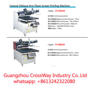 Ceneral Oblique Arm Plane Screen Printing Machine pictures & photos