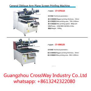 Ceneral Oblique Arm Plane Screen Printing Machine