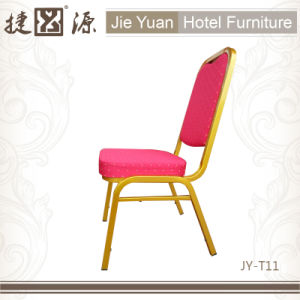 Simple Iron Frame Stacking Commercial Chair (JY-T11) pictures & photos