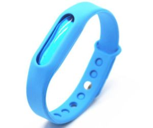 Mosquito Repellent Watch Silicone Wristband with Customer Logo