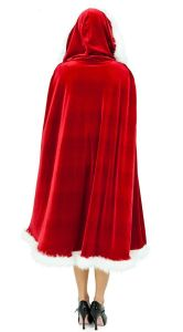 Popular Christmas Clothes Red Cloak pictures & photos