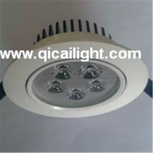 12X1w White+Black Shell LED Downlight pictures & photos