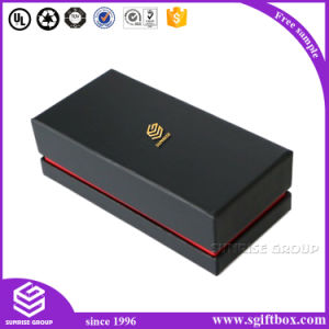 Paper Box Fast Delivery Fashion Elegant Leather Wrapped Cardboard Paper Gift Box Packing pictures & photos