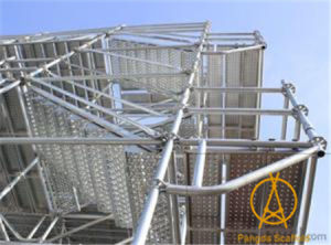China SGS Steel Tube Ringlock Scaffolding System Ringlock Scaffold pictures & photos
