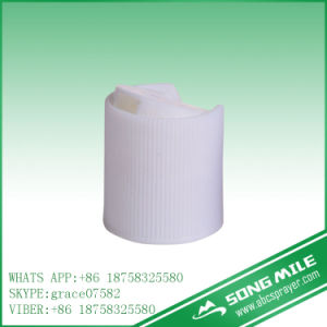 24/415 Ribbed Disc Top Cap for Cosmetics Bottle pictures & photos