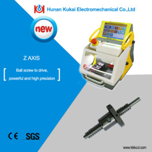 Hot Sale! Modern Computerised Automatic Duplicate Car Key Code Cutting Machine Key Copy Machine Sec-E9 with Multiple Languages pictures & photos