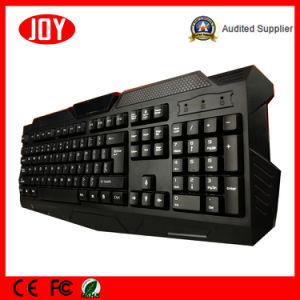New Design USB Interface Djj218 -Black Gaming Silicone Keyboard pictures & photos