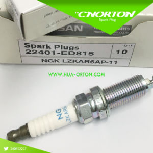 Hight Quality Spark Plug for Ngk Lzkar6ap for Nissan/Toyota 22401-ED815 22401 ED815 pictures & photos