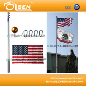 20feet Telescoping Flagpole for Display pictures & photos