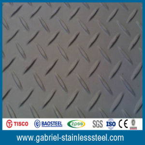 Chequered Plate for 16 Gauge SUS430 Stainless Steel Plates pictures & photos