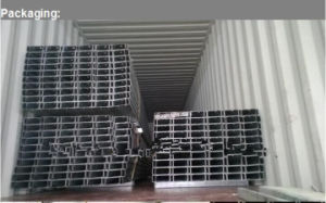 Q345b Hot Rolled Galvanized Steel C Purlin, Galvanized Steel C Purlin, Z Purlin pictures & photos