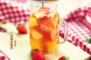 Dehydrated Flower and Fruits Tea-Strawberry Pulp pictures & photos