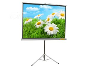 80X80 Inch Floor Standing Tripod Projector Screen Matte White pictures & photos