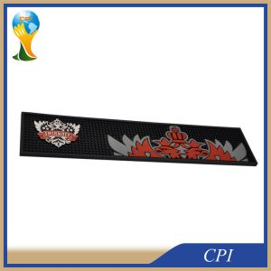 Promotion Anti-Slip PVC Bar Mat with 3D Logo pictures & photos