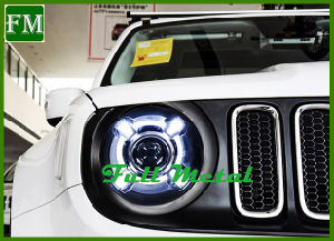 LED Headlamp with Xenon Projector Lens for Jeep Renegade pictures & photos
