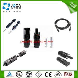 Mc4 Solar PV Extension Connector with TUV Approval pictures & photos