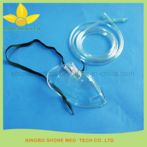 Disposable Medical Nebulizer Oxygen Mask for Adult pictures & photos