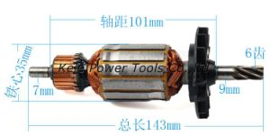 Power Tool Spare Parts (armature for Bosch GBH 2-22 use) pictures & photos