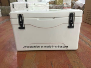 White Roto Molded Ice Cooler Box with Handle pictures & photos