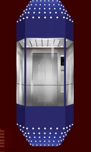 Diamond Cabin Type for Sightseeing Passenger Elevator pictures & photos