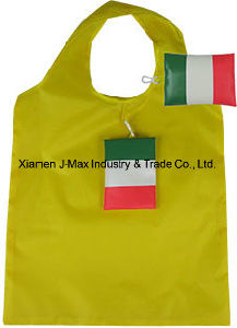 Foldable Flag Shopping Bag, Flag, Reusable, Promotion, Grocery Bags and Handy, Sports Events, Lightweight, Accessories & Decoration pictures & photos