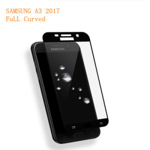 3D Full Cover Tempered Glass for Samsung Galaxy A3 2017 A320 LCD pictures & photos