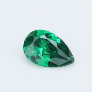 Hotsale Cubic Zirconia Emeral AAA Green Pear Shape Zircon pictures & photos