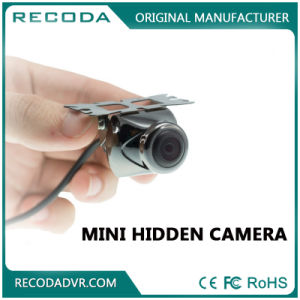 12V 140 Wide Angle Waterproof Mini Hidden Rear View Outdoor Camera pictures & photos