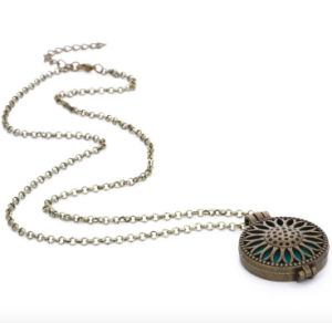 Round Fashion Hanging Perfume Diffuser Necklace (AL-03) pictures & photos