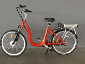 26inch Alloy Frame Electric City Bike for Lady pictures & photos