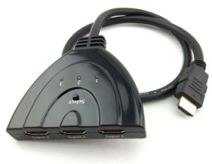 3 Ports HDMI Switch up to 1080P pictures & photos
