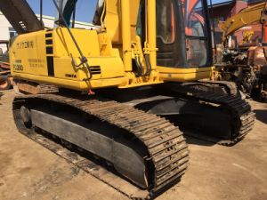 Used Komatsu PC200-6 Japan Excavator for Sale Cat330b/Hitachi Ex200 pictures & photos