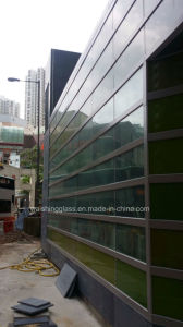 6mm Tempered/Toughened Laminated Glass for Curtain Wall with Ceramic Fritted pictures & photos