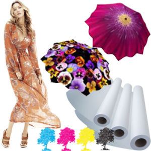 "17""24""36""Chinese Best Quality 100g Sublimation Paper for Polyester pictures & photos"