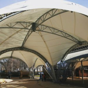 Steel Structure Stretchable Stage Truss Tent with PVDF Cover pictures & photos