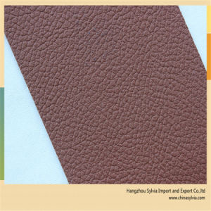 Leather Material for Chairs PU Material pictures & photos