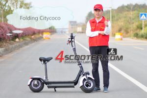 China Factory Citycoco/Seev/Woqu 2 Wheel Self Balancing Mobility Electric Chariot Covered Electric pictures & photos