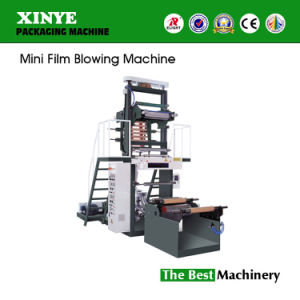 High Speed Mini HDPE Plastic Film Blowing Machine pictures & photos