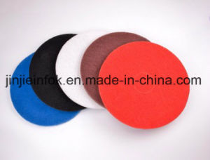 High Quality White Polishing Waxing Floor Pad pictures & photos