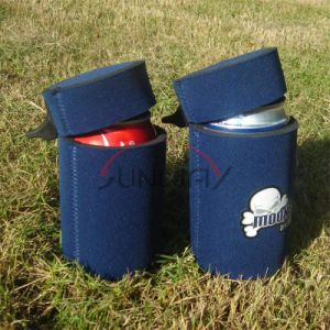 Neoprene Insulated Beer Beverage Stubby Can Cooler with Cap (BC0086) pictures & photos
