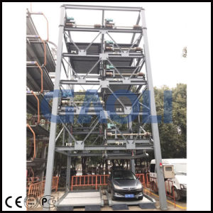 IC Card and Manual Type Automatic Rotary Car Parking System pictures & photos