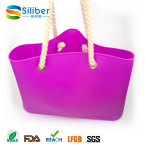 Promotional Gift for Shopping and Beaching Tote Bag/Handbag with Washable Material pictures & photos