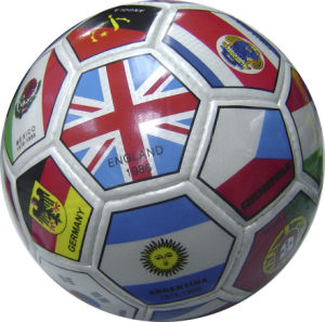 3# PVC Hand Sewn Soccer Ball pictures & photos