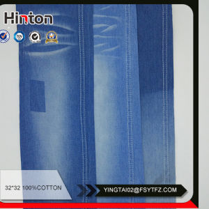 Low Price Storeroll 100%Cotton Denim Fabric pictures & photos