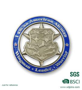 Factory Mathies Nco Academy Cut out Souvenir Challenge Coin pictures & photos
