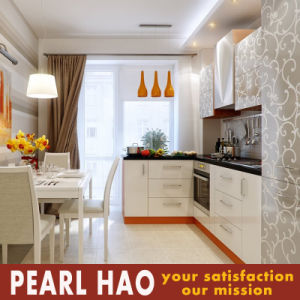 Malaysia Apartment Projects Melamine Kitchen Cabinets pictures & photos